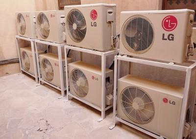 compresores de aire acondicionado