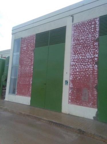 fachada depuradora Aranjuez