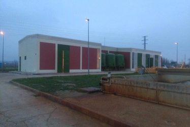 Rehabilitacion fachada depuradora Aranjuez