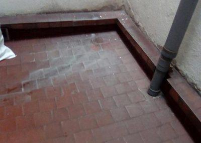 Impermeabilizacion de patio
