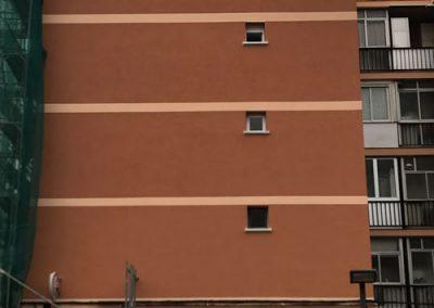 restauración fachada edificio grupo Anade